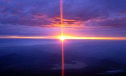 富士山から見たご来光