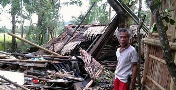 フィリピン台風30号被害 パナイ島
