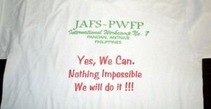 Tシャツ Yes, We Can.