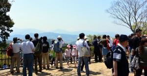 山頂の大見晴園地