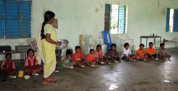 インド・パダトラ小学校