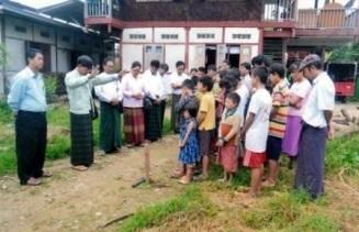 子ども村施設建設の祈祷式