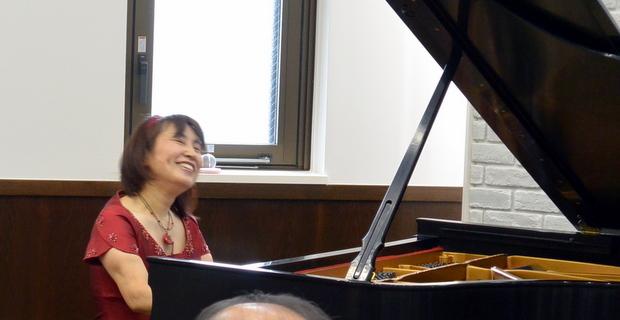 瀬田敦子ピアノチャリティコンサート