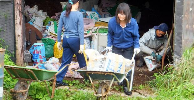 第7回小谷村 女子も重労働