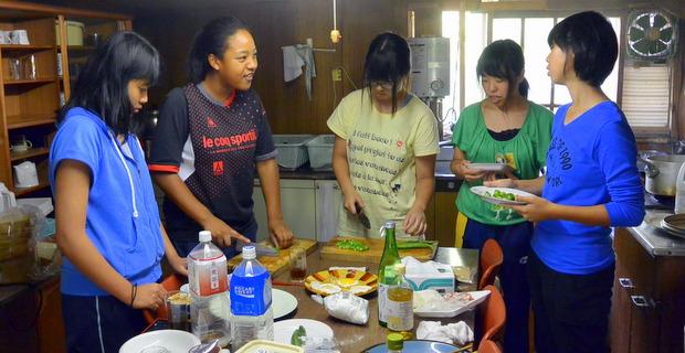 第7回小谷村 食事の準備