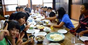 第7回小谷村 みんなで昼食