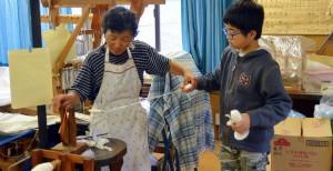 第7回小谷村 綿花からの糸紡ぎ