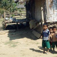 ミャンマーの風景 - 子どもたち