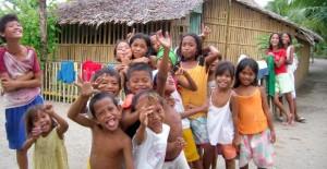 支援している子どもたち(フィリピン)