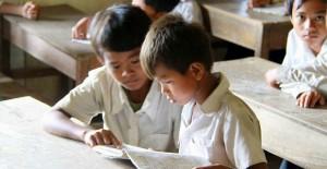 支援している子どもたち(カンボジア)