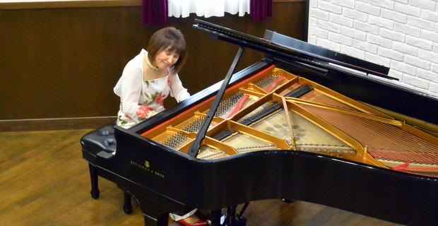 情感溢れる瀬田さんの演奏