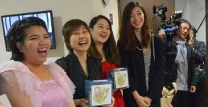 笑顔の素敵なタイの学生さんたち