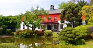 小石川植物園:日本庭園と旧東京医学校本館