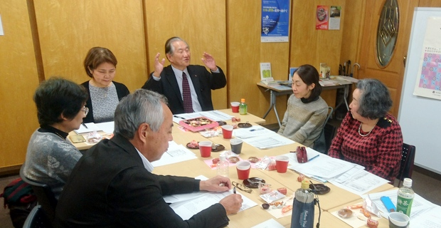 JAFS関東活動委員会のようす