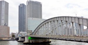 Kachidokibashi bridge