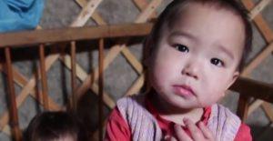 モンゴルの子どもたち
