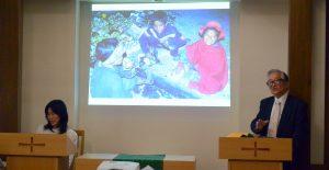 村上局長の講演「子供たちのスライド」