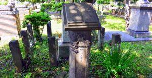 ロダスカ・ワイリックさんの墓碑