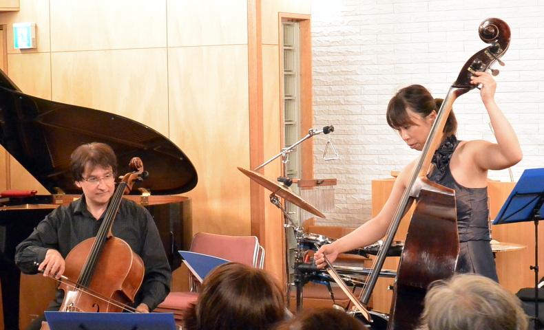 デュオ演奏:ソナタ イ長調よりアダージョとアレグロ