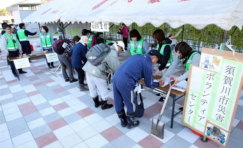 須賀川災害ボランティア