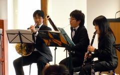ミニコンサート 演奏中のスナップ(2)