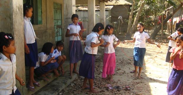 パネールチョラ村の子どもたち