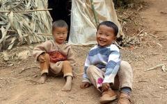 カチン州難民キャンプの子どもたち