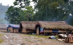 カチン州難民キャンプ