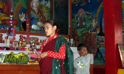子里子の笑顔(2) グルン族のお正月