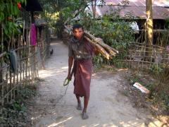 ラカインの村の人たち