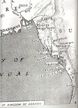 Arakan Map