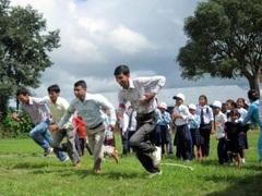 ネパール環境プログラム 運動会
