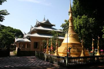 Buddhist temple on Maheshkali Island