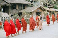 ラカイン族の仏教行事