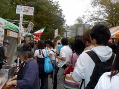 グローバルフェスタ2011飲食ブース2