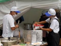 グローバルフェスタ2011飲食ブース トエエモンさん