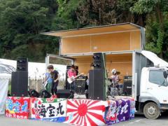 歌津復興夏まつり ロックバンド