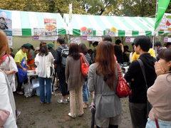 グローバルフェスタ2012 飲食ブース(2)