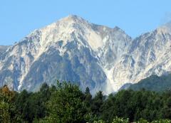 白馬の峰々
