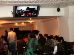 チャリティコンサート 満席の会場